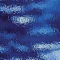 Medium Blue Rough Rolled