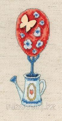 """Набор для вышивания крестом """"Топиарий-дерево счастья"""""""