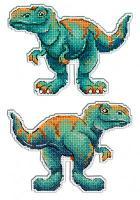 """Набор для вышивания """"Динозавры. Тираннозавр"""""""