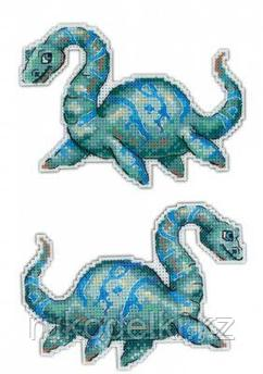 """Набор для вышивания """"Динозавры. Плезиозавр"""""""