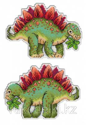 """Набор для вышивания """"Динозавры. Стегозавр"""""""