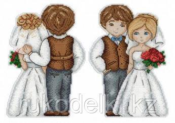 """Набор для вышивания """"Жених и невеста"""""""