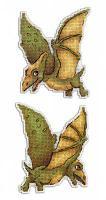 """Набор для вышивания """"Динозавры. Птеродактиль"""""""