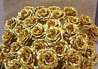 Букет из золотых роз (5 шт), фото 3