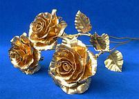Букет из золотых роз (5 шт), фото 4