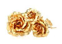 Букет из золотых роз (7 шт)