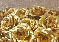 Букет из золотых роз (7 шт), фото 3