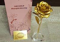 "Золотая роза ""Heartfelt Blessing"" (24k), фото 2"