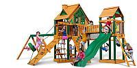 Детская площадка «Гульдер», стол со скамейками, песочница, трапеция с ручками, горки, фото 1