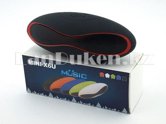 Bluetooth mp3 колонка mini x6u - фото 5