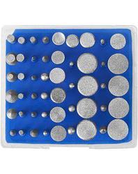 Насадки для гравера набор ЗУБР 33383-H50, ПРОФЕССИОНАЛ мини-насадки с алмазным напылением в пластиковом боксе