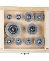 Алмазные мини диски насадки для гравера ЗУБР 33385-H10, ЭКСПЕРТ, круги с алмазным напылением на шпильке