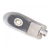 Консольный уличный светодиодный светильник СКУ 50 w Серый или черный корпус. Уличный фонарь LED Кобра