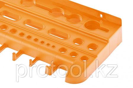Полка для инструмента 47,5 см., оранжевая //Stels, фото 2