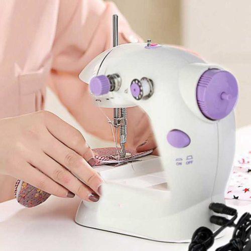 Портативная Мини швейная машинка электрическая.