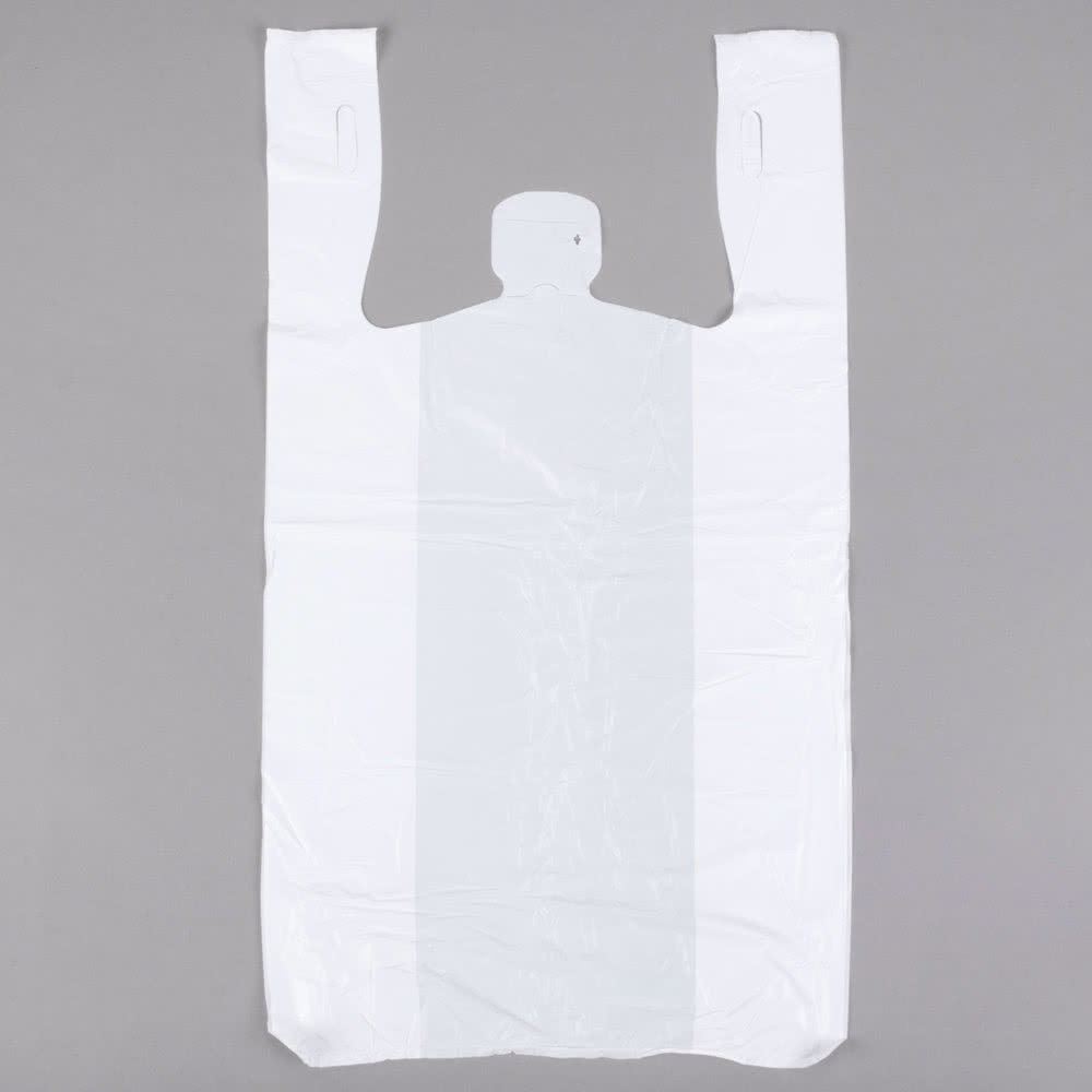 Пакет майка белый (1000 шт)