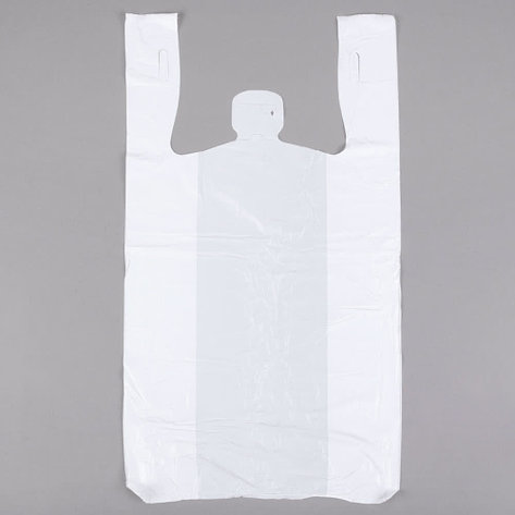 Пакет майка белый (1000 шт), фото 2