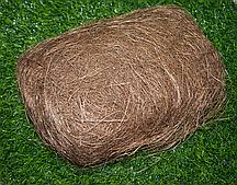 Волокно для творчества Сизаль коричневый 100 гр