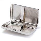 Портсигар серебреный, фото 3