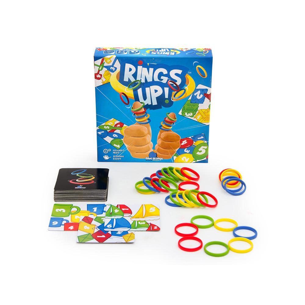 Настольная игра: Разноцветные колечки