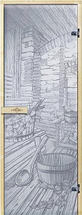 Дверь для бани «Русская баня», фото 2