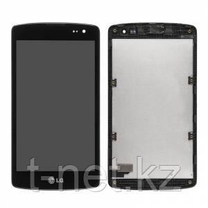 Дисплей LG L Fino D295 с сенсором, цвет черный