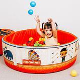 Сухой бассейн «Индейцы» 200 шариков, фото 3