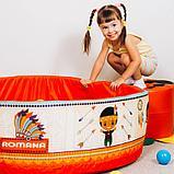 Сухой бассейн «Индейцы» 200 шариков, фото 2