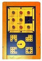 Игровая детская развивающая панель «Tic Tac Toe»