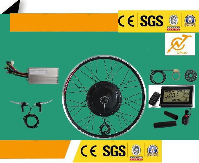 Эл.набор. Мотор-колесо заднее 48v 1000w. Дисплей  KT-LCD3. Без аккумулятора