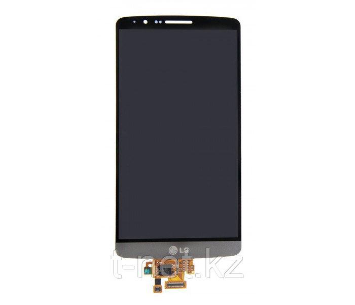 Дисплей LG G3 D855, с сенсором, цвет черный