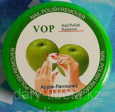 Салфетки для снятия лака яблоко
