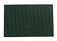 Коврик придверный, темно-зеленый,  58*39 см