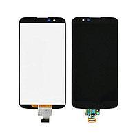 Дисплей LG K10 TV K430 TV , с сенсором, цвет черный