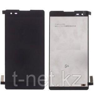 Дисплей LG X STYLE K200 , с сенсором, цвет черный