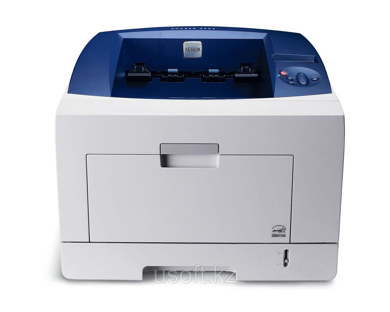 Принтер Xerox Phaser 3435DN (3435V_DN) A4, для среднего офиса, лазерный ч/б, 33 стр./мин, разрешение 1200 dpi