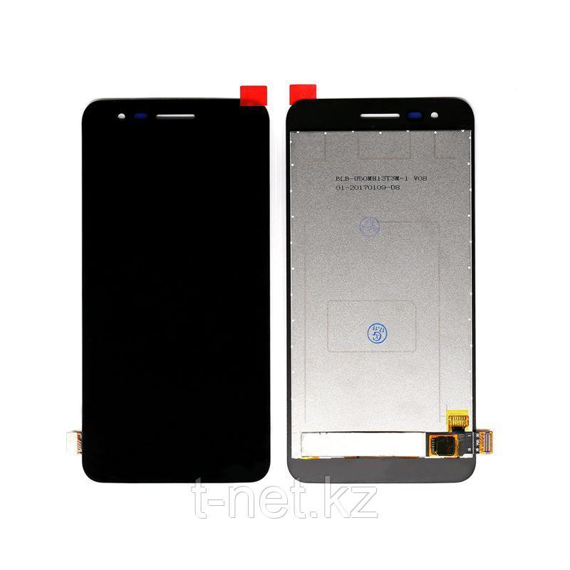 Дисплей LG K4 2017 X230 , с сенсором, цвет черный