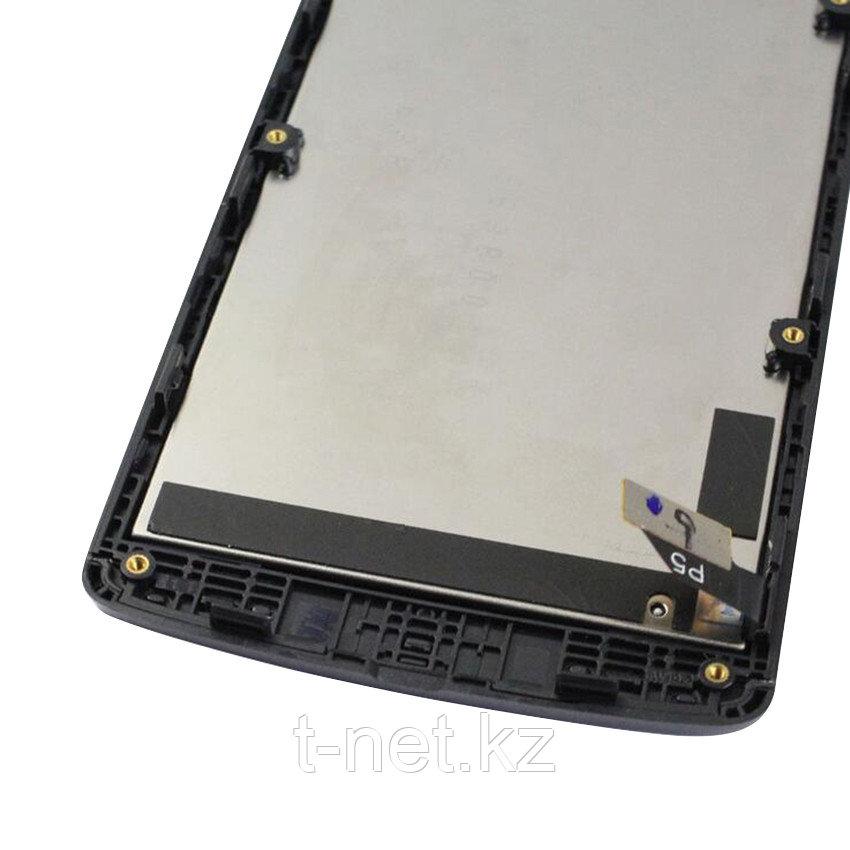 Дисплей LG LEON H324, с сенсором, цвет черный