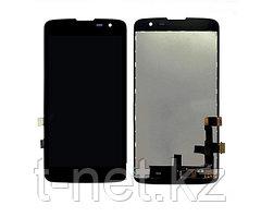 Дисплей LG K7 X210, с сенсором, цвет черный