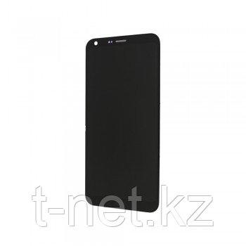 Дисплей LG Q6 , с сенсором, цвет черный
