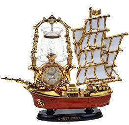 Часы-светильник с будильником