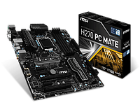 Сист. плата MSI H270 PC MATE, H270, 4xDIMM DDR4