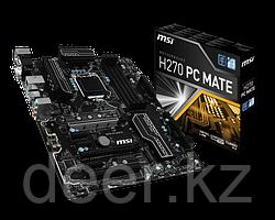 Сист. плата MSI H270 PC MATE, H270, 4xDIMM DDR4