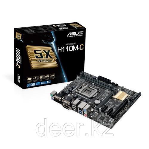 Сист. плата Asus H110M-C, H110, S1151, 2xDIMM DDR4
