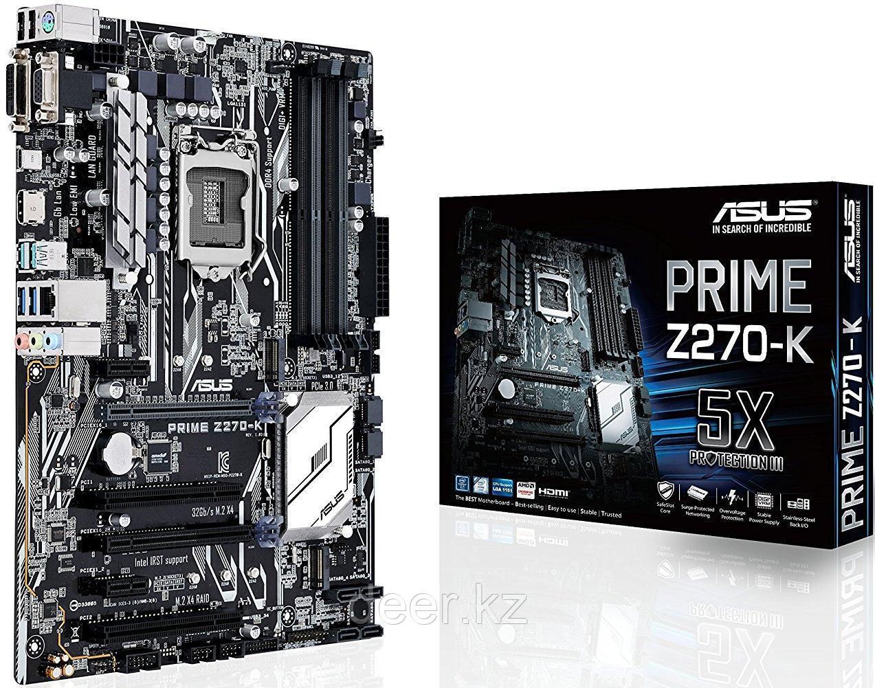 Сист. плата Asus PRIME Z270-K, Z270, S1151, 4xDIMM DDR4