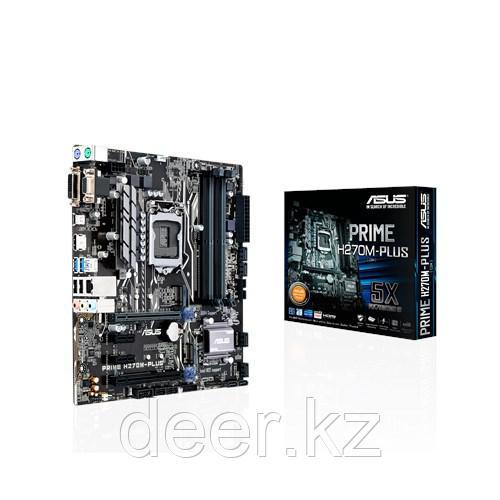 Сист. плата Asus PRIME H270M-PLUS, H270, S1151, 4xDIMM DDR4