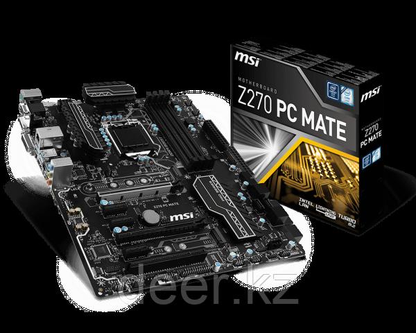 Сист. плата MSI Z270 PC MATE, Z270, 4xDIMM DDR4