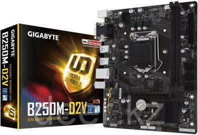 Сист. плата Gigabyte B250M-D2V, B250, S1151, 2xDDR4 DIMM