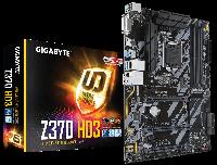 Сист. плата Gigabyte Z370 HD3, Z370, S1151, 4xDDR4 DIMM