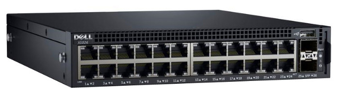 Коммутатор Dell 210-AEIM Networking X1026 Smart Web Managed Switch